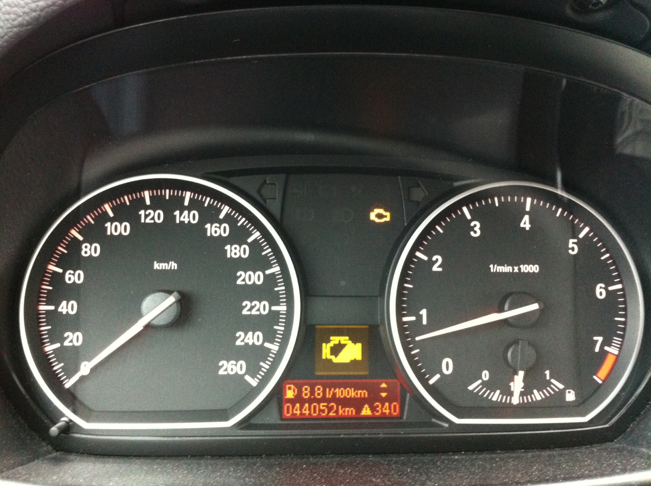 44 000 Km Kontrollleuchte Motorst 246 Rung Und