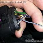 Audi A4 B8 Klemme 15