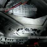 Audi A4 B8 Marderschutz Einbau Unterboden